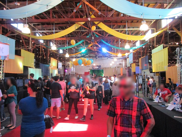 STEAM Carnival main floor