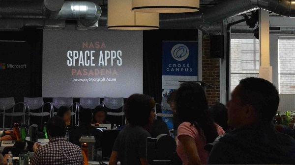 Audience awaits Space Apps Pasadena 2016