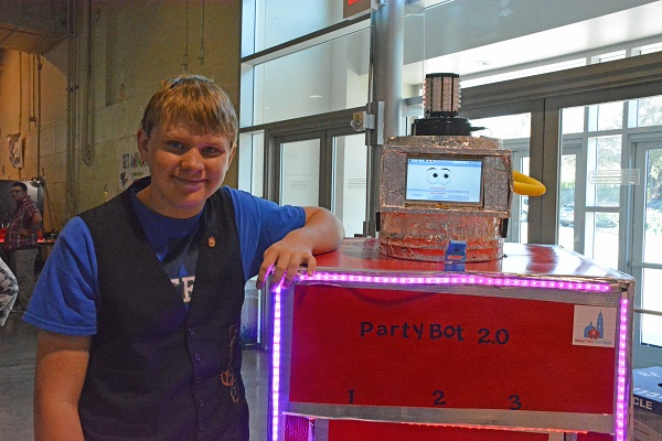 """Partybot"" Gets an Upgrade"