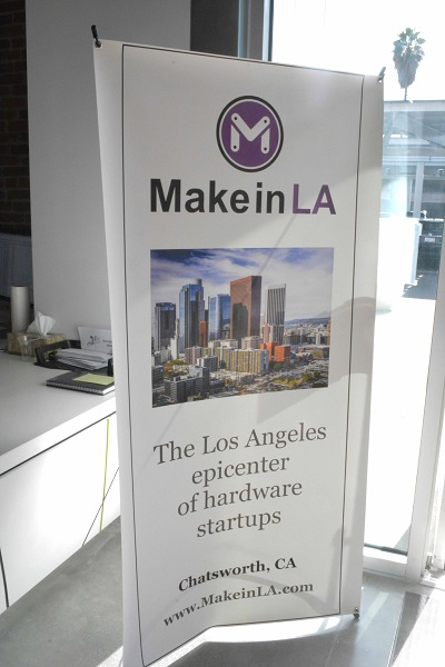 Make in LA sign