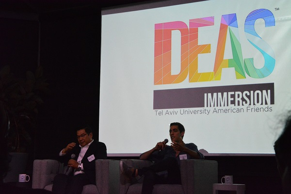 IDEAS Immersion panelists Robert Mai and Eric Pakravan