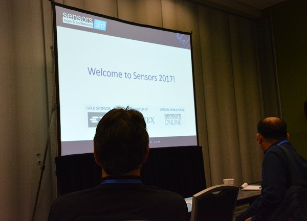 Welcome to Sensors 2017 slide and audience