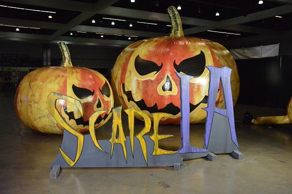 ScareLA pumpkins