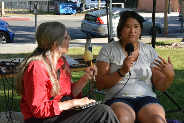 Dot interviews CB Lee at San Gabriel Valley Pride Festival 2017